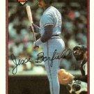 1989 Bowman #257 Jesse Barfield