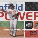 2008 Upper Deck Infield Power #BR Brian Roberts