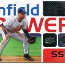 2008 Upper Deck Infield Power #DJ Derek Jeter