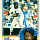 1983 Topps 770 Dave Winfield