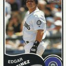 2003 Bazooka Minis #185 Edgar Martinez