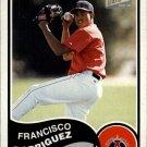 2003 Bazooka Minis #133 Francisco Rodriguez