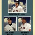 2005 Fleer Tradition #9 Manny/Konerko/Ortiz SL