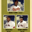 2005 Fleer Tradition #11 Ortiz/Manny/Tejada SL