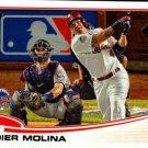 2013 Topps Update #US142A Yadier Molina
