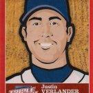2012 Triple Play Stickers #24 Justin Verlander
