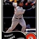 2003 Bazooka #24 Manny Ramirez