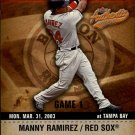 2003 Fleer Authentix #28 Manny Ramirez