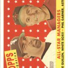 2007 Topps Heritage #475 O.Guillen AS MG/P.Garner AS MG