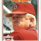 1987 Topps Glossy All Stars #1 Whitey Herzog