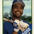 1988 Topps 595 Frank White