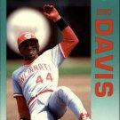 1992 Fleer 403 Eric Davis