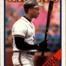 1988 Topps 15 Chili Davis