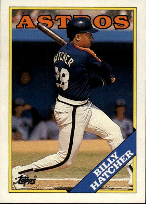 1988 Topps 306 Billy Hatcher