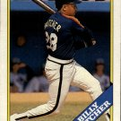 1988 Topps 306 Billy Hatcher