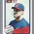 2001 Fleer Platinum #100 Juan Gonzalez