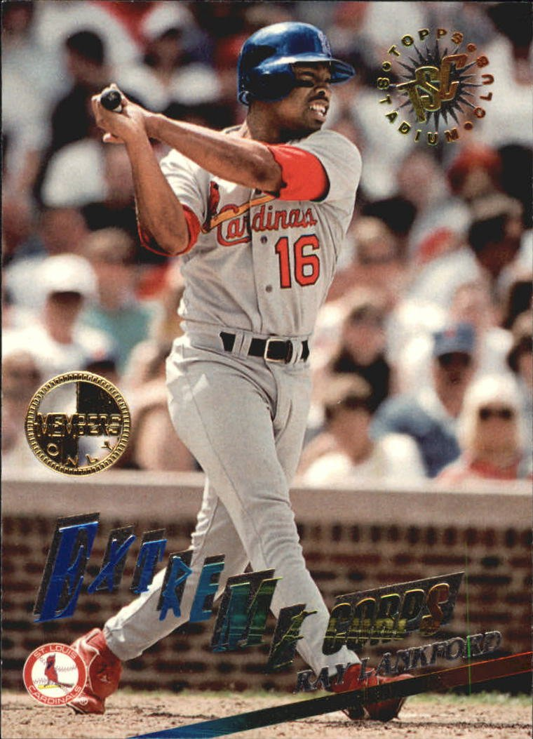 1995 Stadium Club #507 Ray Lankford EC