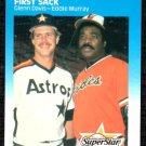 1987 Fleer #636 Eddie Murray/G.Davis