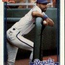 1991 Topps 208 Willie Wilson