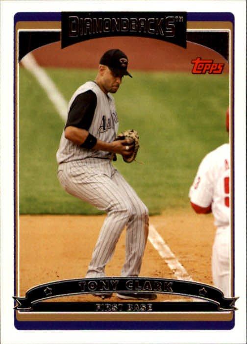 2006 Topps #378 Tony Clark