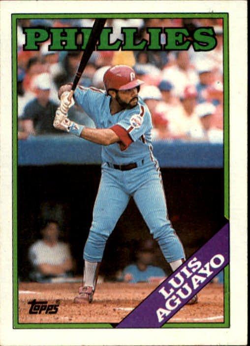 1988 Topps 356 Luis Aguayo