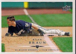 2008 Upper Deck #756 Ryan Braun CL