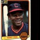 1983 Donruss #515 Rodney Craig