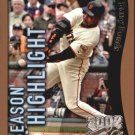 2002 Topps Opening Day #164 Barry Bonds HL