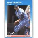 1987 Fleer #510 Doyle Alexander