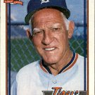 1991 Topps 519 Sparky Anderson MG