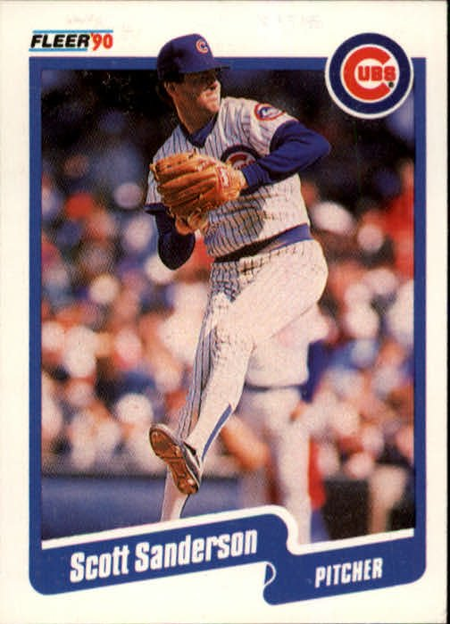1990 Fleer 41 Scott Sanderson
