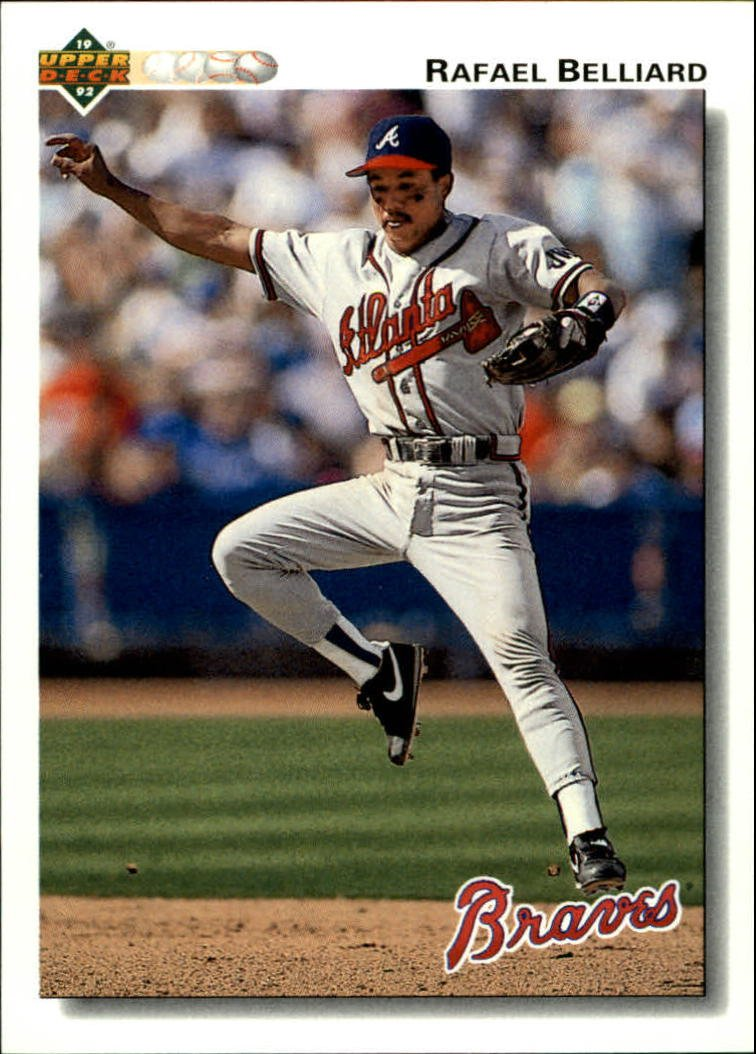 1992 Upper Deck 510 Rafael Belliard