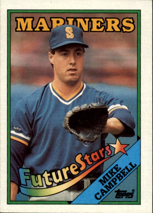 1988 Topps 246 Mike Campbell