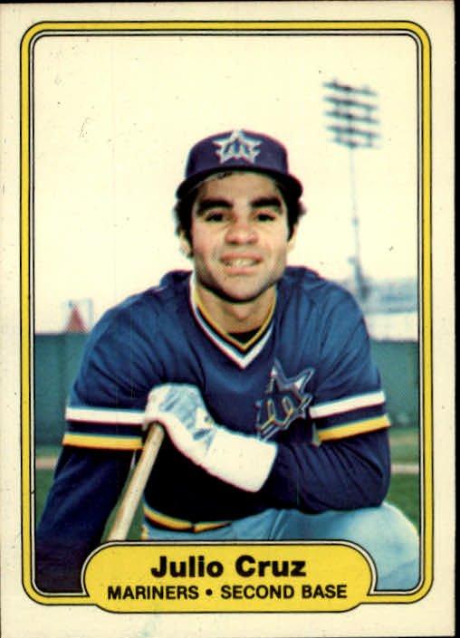 1982 Fleer 509 Julio Cruz