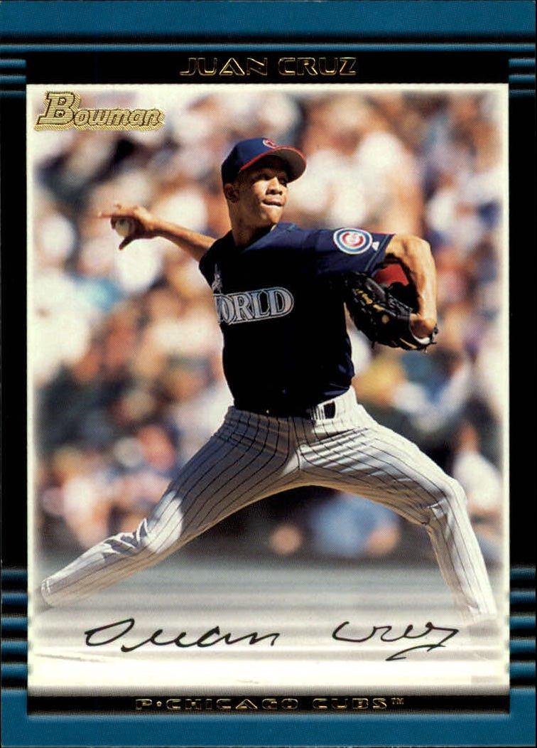2002 Bowman #116 Juan Cruz