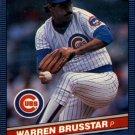 1986 Donruss 555 Warren Brusstar