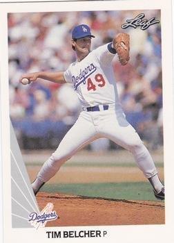 1990 Leaf 200 Tim Belcher