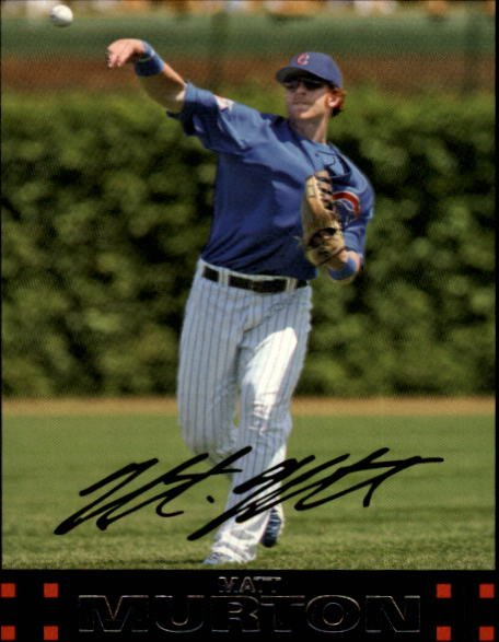 2007 Topps 175 Matt Murton
