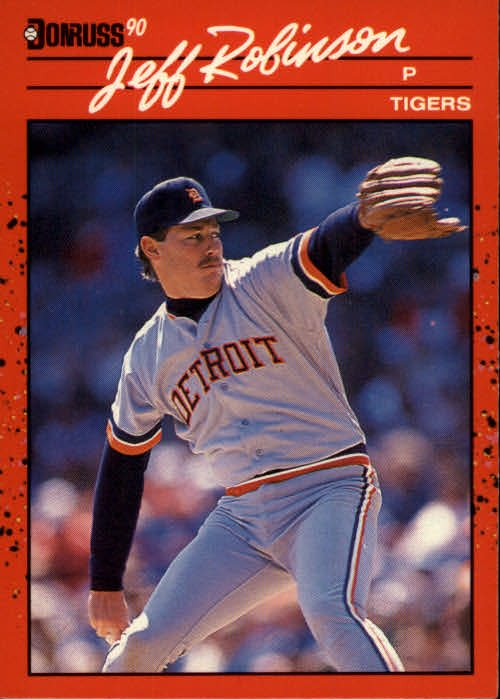1990 Donruss 417 Jeff M. Robinson