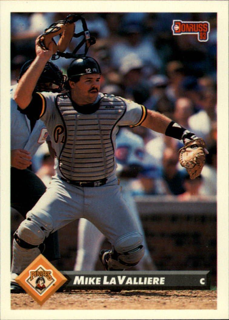 1993 Donruss 306 Mike LaValliere