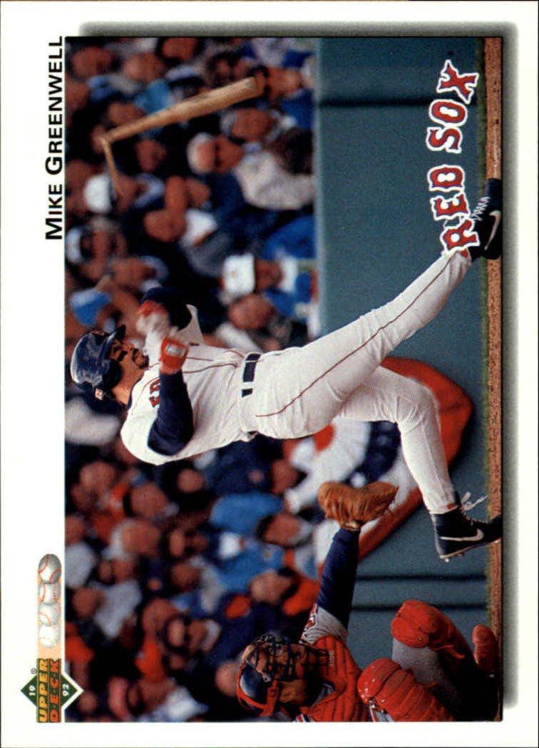 1992 Upper Deck 275 Mike Greenwell