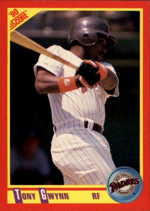 1990 Score 255 Tony Gwynn