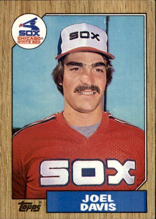1987 Topps 299 Joel Davis