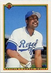 1990 Bowman 371 Frank White