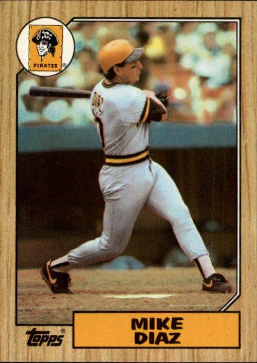 1987 Topps 469 Mike Diaz
