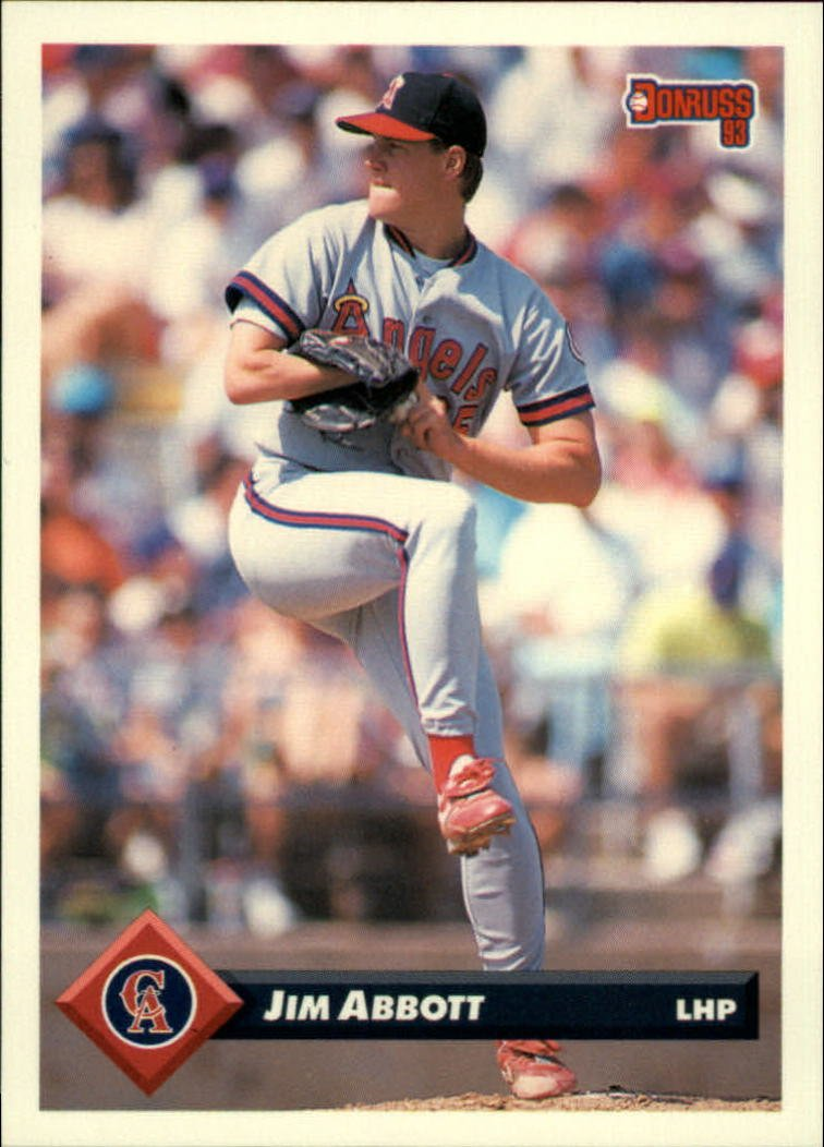 1993 Donruss 35 Jim Abbott