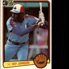 1983 Donruss #492 Roy Johnson