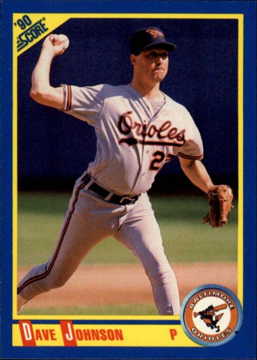 1990 Score 528 Dave Wayne Johnson RC
