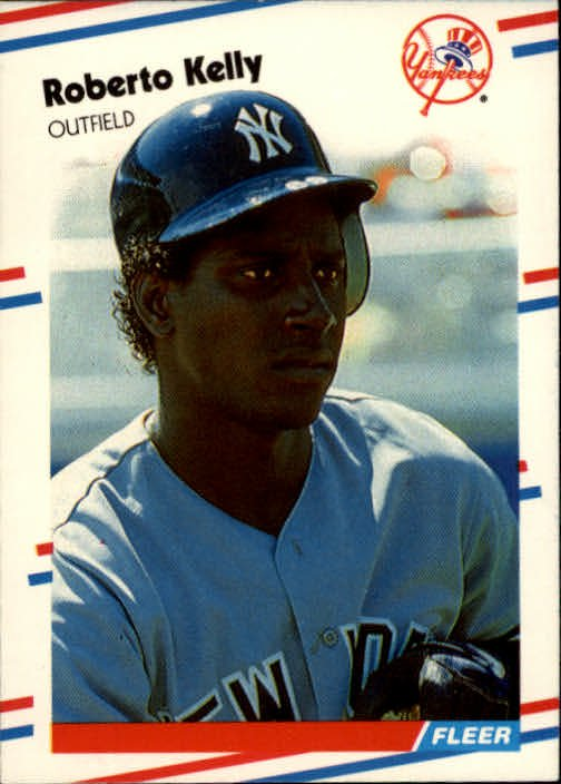 1988 Fleer 212 Roberto Kelly RC