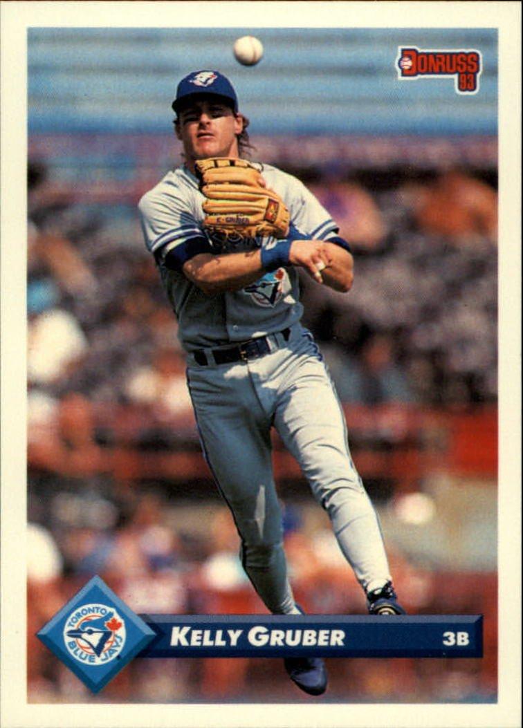 1993 Donruss 453 Kelly Gruber